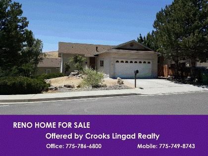 Reno Home For Sale Near UNR, School Isn't Far